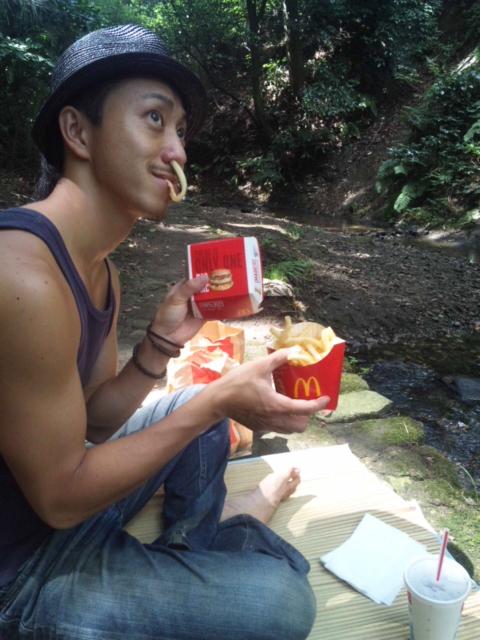 ピクニック??